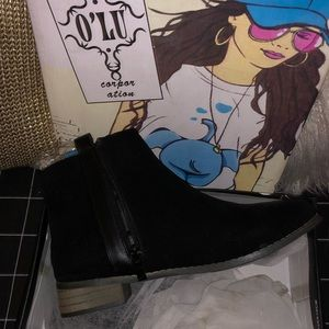 Shoes - New in Box Black Ankle Booties